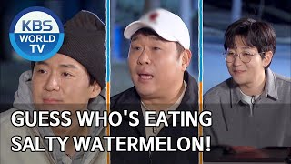 Guess who&#39s eating salty watermelon! 2 Days &amp 1 Night Season 4ENG2020.04.12