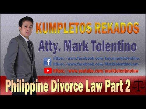 Philippine Divorce LAw 2