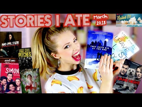 STORIES I ATE THIS MONTH | MARCH 2018