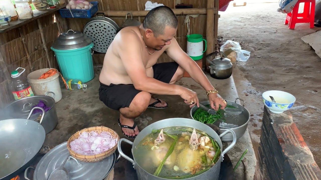 Cơm Gà Hải Nam # Món Ngon # Ông Anh Nấu - TVQT.111