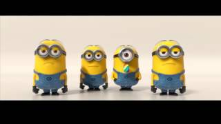 R  City   Locked Away ft  Adam Levine Minions version