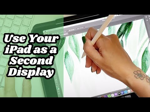 How To Use Your IPad As A Second Display For Photoshop And Illustrator With Sidecar