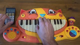 Ski Mask The Slump God - Catch Me Outside PLAYED ON A CAT PIANO AND A DRUM CALCULATOR thumbnail
