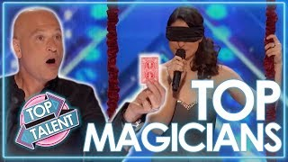 Top SHOCKING Magicians! | Britain's Got Talent & America's Got Talent | Top Talents