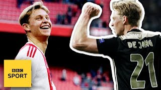 Ajax to FC Barcelona: Who is Frenkie De Jong? | BBC Sport
