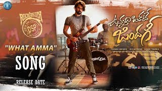 Video What Amma Song Release Date | #Whatamma Song | #UnnadiOkateZindagi | RamPothineni | #RAM  | R2R download MP3, 3GP, MP4, WEBM, AVI, FLV Oktober 2017