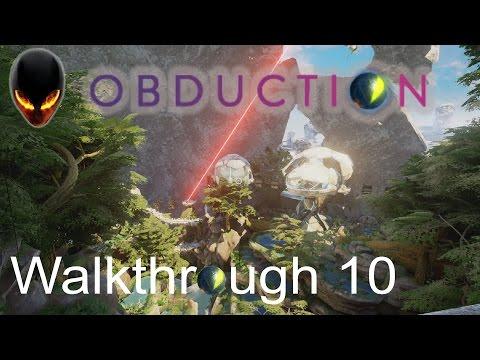 Obduction : Walkthrough 10 -  Le monde Tropical (Maray) : Partie 1 - Arrêt du faisceau laser rouge
