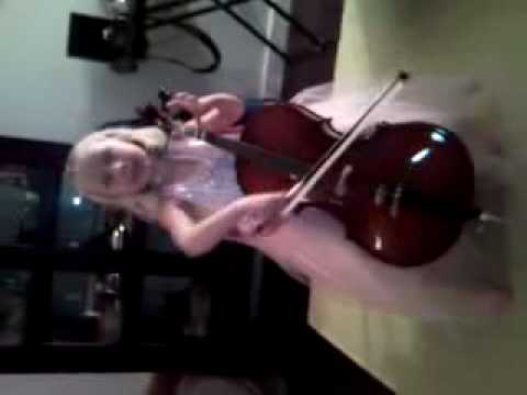Lucy on Cello - Mississippi Hot Dog!