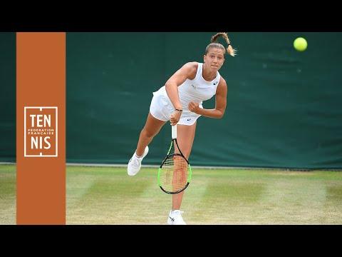 Wimbledon 2019 juniors : Parry maîtrise Jacquemot | FFT