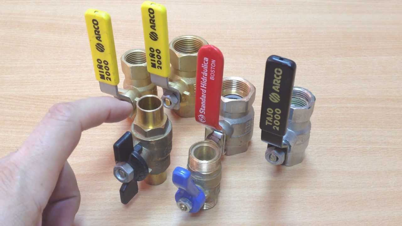 Llaves para instalaciones de agua y gas youtube for Llave de paso de agua