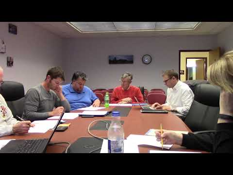 Mineral Point School Board 10.22.18