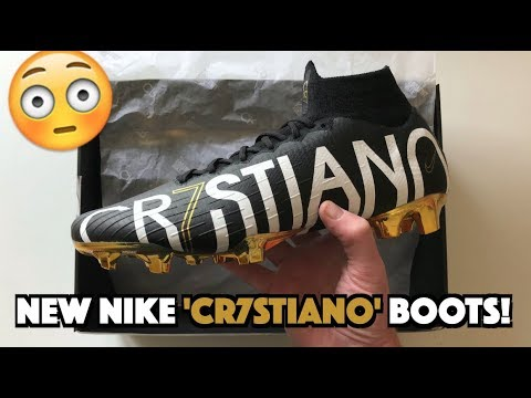 be5f3d3a6a75 NEW RARE CR7 BOOTS!?   Nike Mercurial 'CR7STIANO' Superfly VI Unboxing!   Limited  Edition!