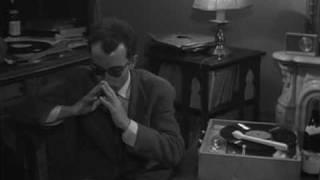 Godard en Sisyphe de l'électrophone (1959)