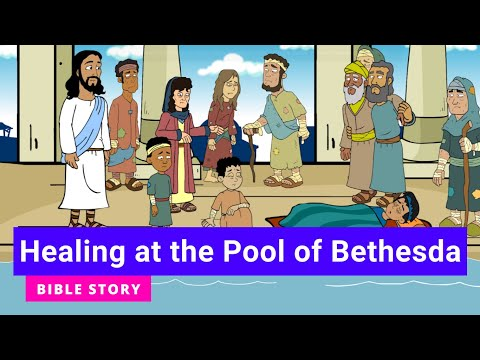 """Primary Year A Quarter 4 Episode 10: """"Healing at the Pool of Bethesda"""""""