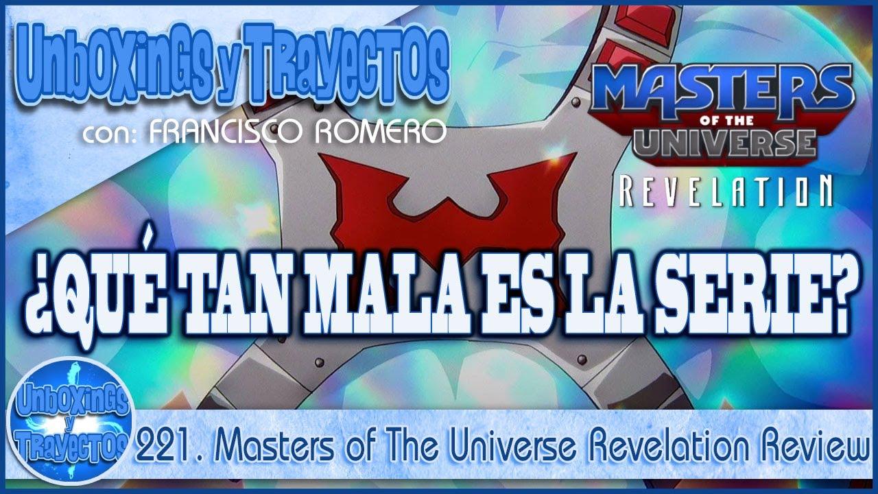 221. Masters of The Universe Revelation Review - Opinión Sincera de un Fan de He-Man