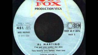 AL MARTINO   TWO HEARTS ARE BETTER THAN ONE   EP 20th FOX V 45 P 2076