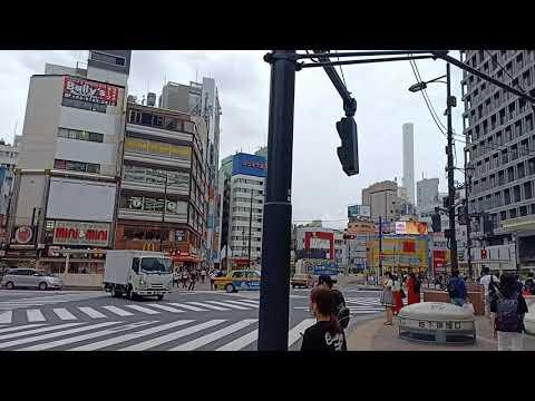 Walking From Metropolitan Hotel Ikebukuro To Tobu And Surrounding Area