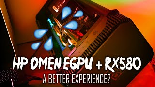 HP OMEN eGPU + RX580 - Any better?