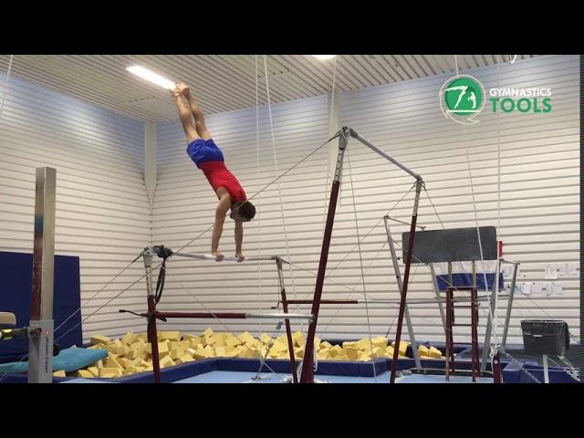 Toe Shoot - Toe Hecht Drills & Exercises | Uneven Bars | Gymnastics