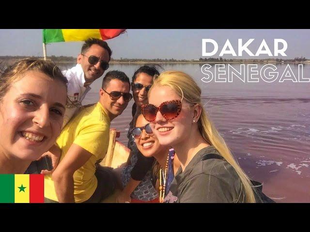 This Lake is pink?! // Dakar // Senegal