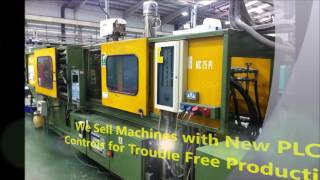 Used Plastic Injection Molding Machine India Intro Video 50 tons 100 tons 200 tons 300 tons 400 tons