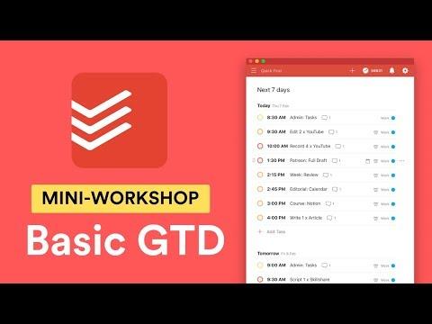 Todoist + GTD: Basic Guide