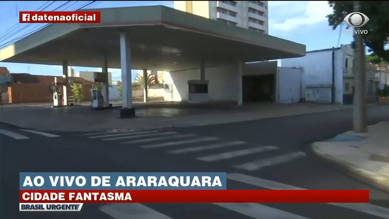 "DATENA MOSTRA ARARAQUARA ""FANTASMA""   BRASIL URGENTE"