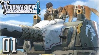 Valkyria Chronicles 4 PC Gameplay Walkthrough Part 1 - Prologue & Fort Krest!