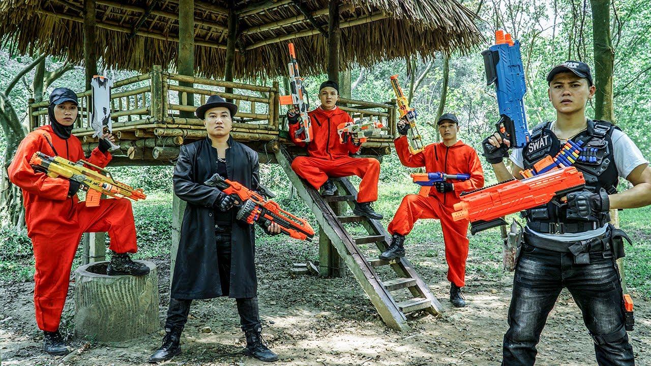LTT Nerf War : Police Complex SEAL X Warriors Nerf Guns Fight Dr Ken Crazy Smart Bandits