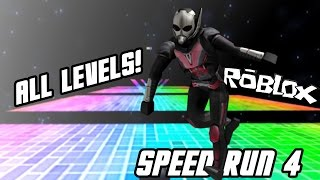 ROBLOX SPEED RUN 4: ALL LEVELS (0-31)