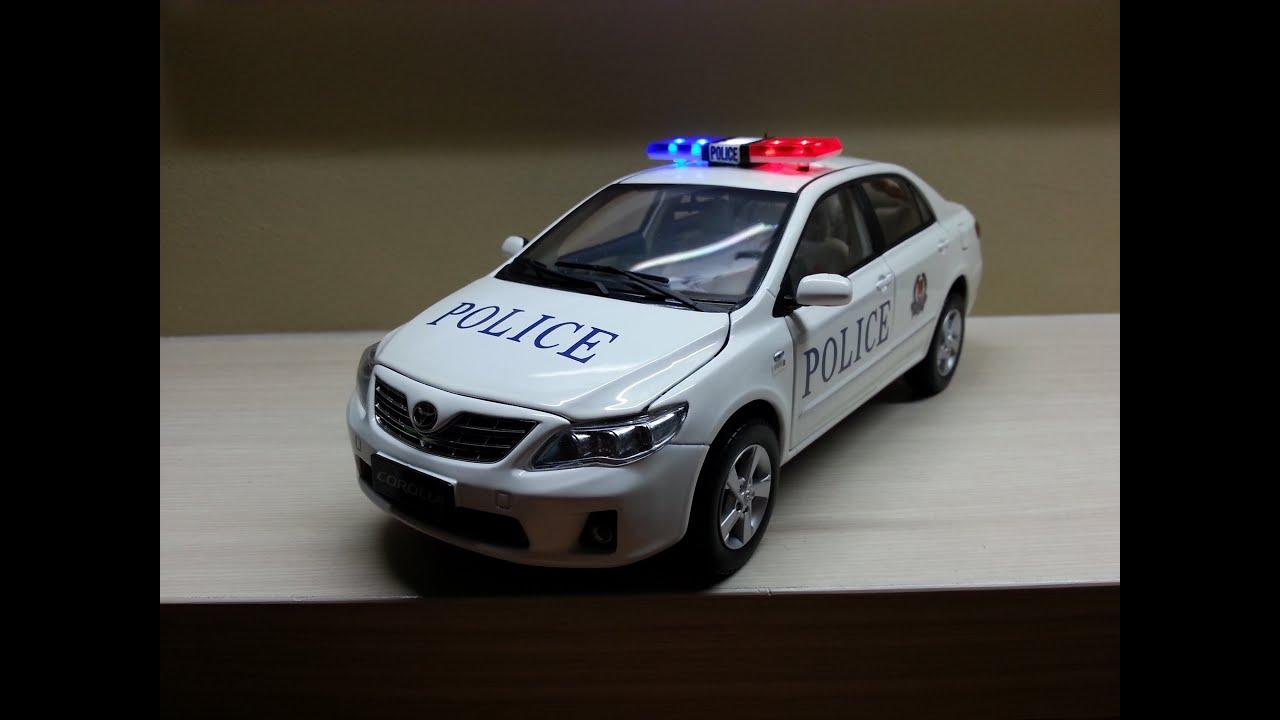 Singapore Police Toyota Altis Fast Response Car Youtube