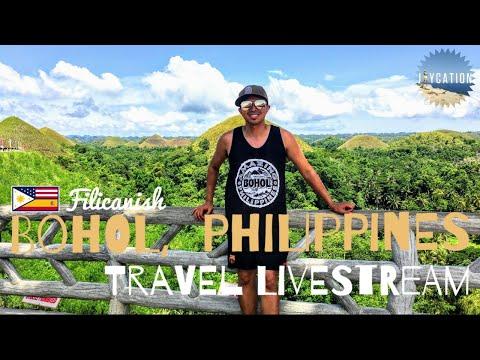 BOHOL PHILIPPINES TRAVEL LIVESTREAM