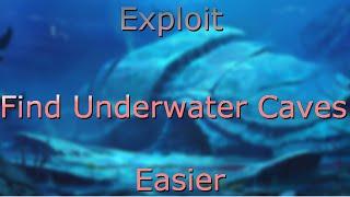 Exploit To Find Underwater Caves Easier - ARK: Survival Evolved