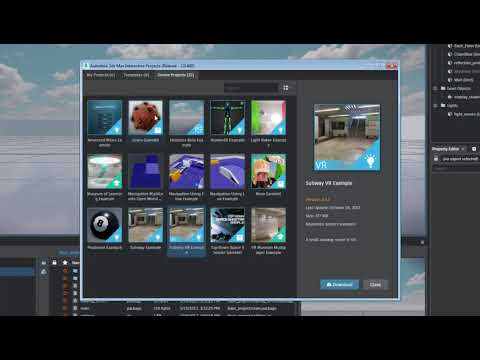 Getting Started in 3ds Max Interactive - Part 1: Set up a Project