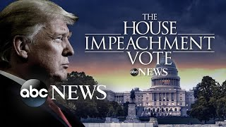 Donald Trump becomes 3rd president in US history to be impeached Donald Trump became only the third president in U.S. history to be impeached when the House on Wednesday approved two articles of impeachment against ..., From YouTubeVideos