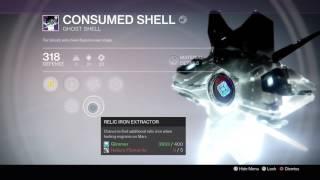 Destiny: TTK - Consumed Shell