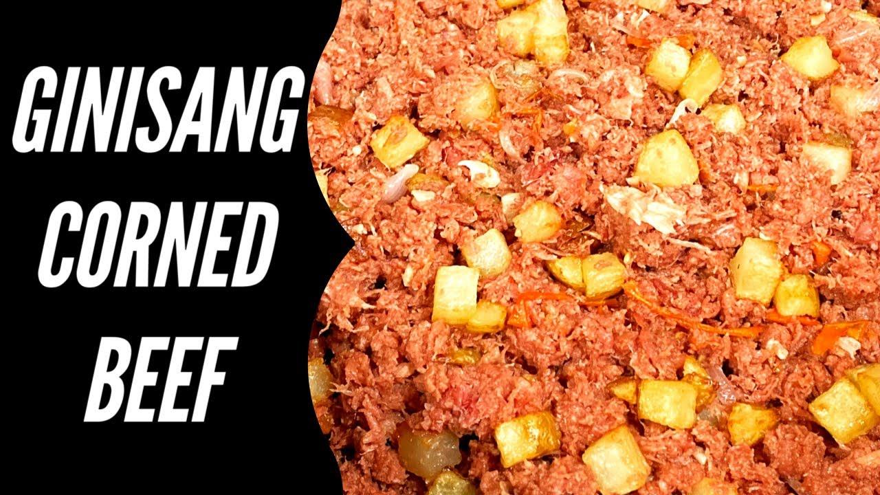 Ginisang Corned Beef | Easy Recipe | Filipino Food - YouTube