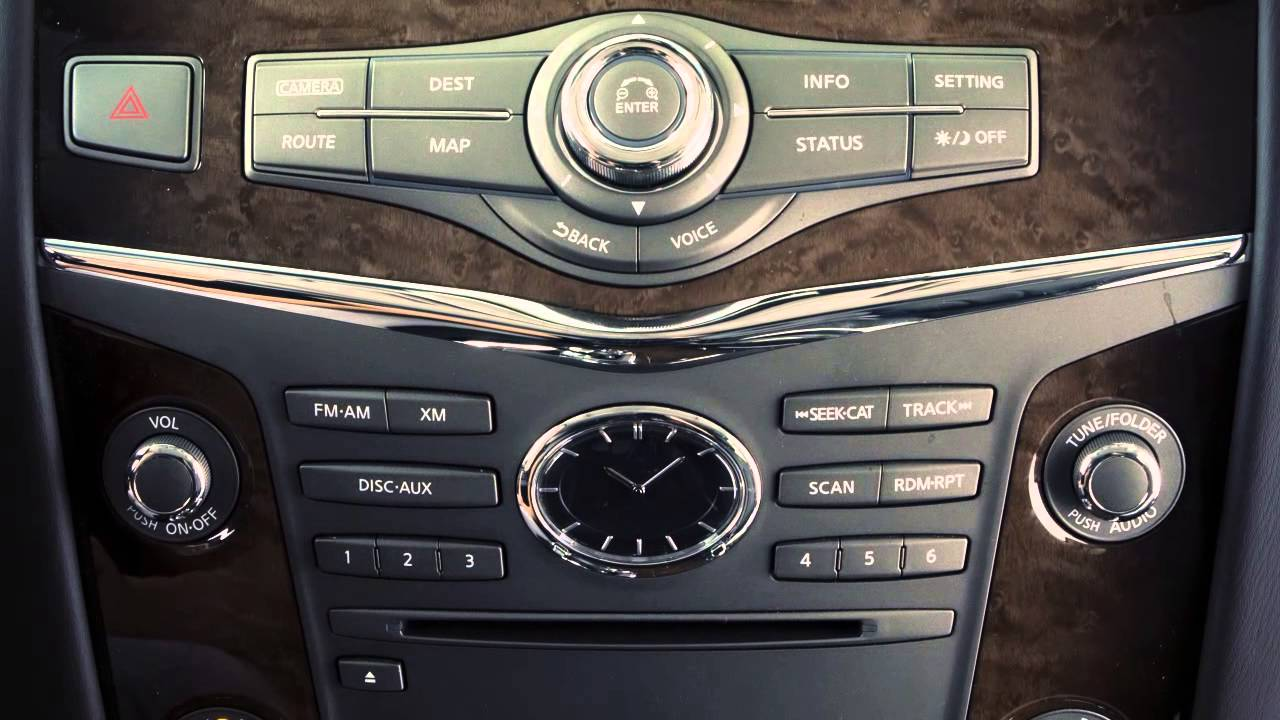 2013 Infiniti Qx Usb Ipod Interface Youtube