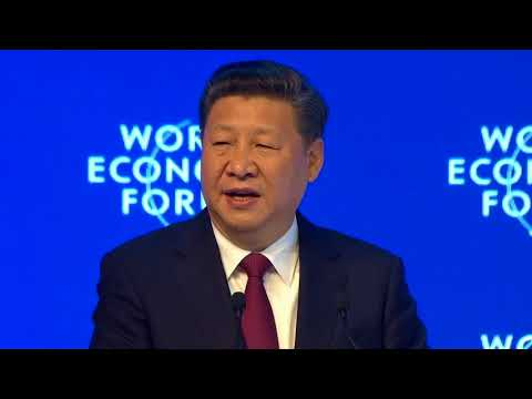 Opening Plenary with Xi Jinping, President of the Peoples Republic of China Davos 2017