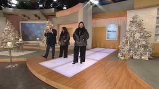 Dennis Basso Platinum Collection Shawl Collar Coat with Antonella Nester
