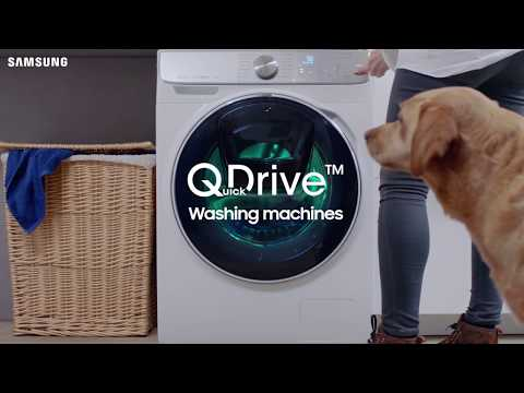 Samsung QuickDrive™ | Speed up life's laundry