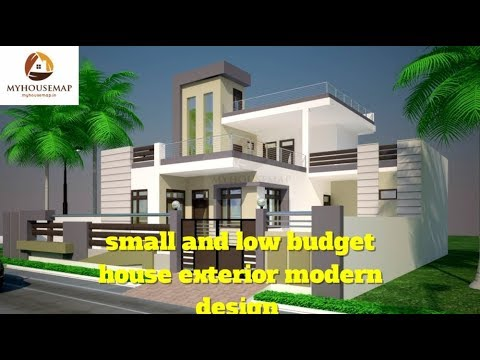 Small And Low Budget House Exterior Modern Design Indian