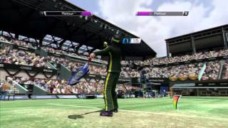 Virtua Tennis 4 - PS3 - Arcade Mode & Unlock King (Easy) with Created Character