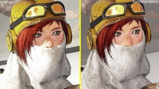 Recore Xbox One vs Xbox One X Definitive Edition 4K Graphics Comparison