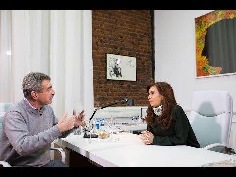 Cristina Kirchner y Agustín Rossi en el Instituto PATRIA #UnidadCiudadana