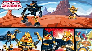 Angry Birds Transformers: Unlocked High Octane Bumblebee Max Level Gameplay Part 92