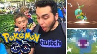 3 SHINY POKEMON in a ROW! 🍃😱 Pokemon GO