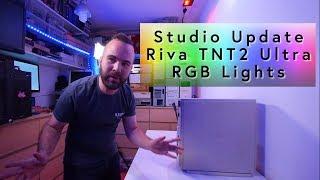 Studio Update! Testing the RIVA TNT2 Ultra in the Dell XPS B800r, RGB lights