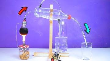 Make an Amazing Laboratory Distiller for science fair