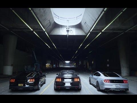 short Mustang Movie Downtown LA Los Angeles 4k